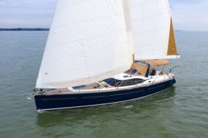 Discovery Yachts sailing