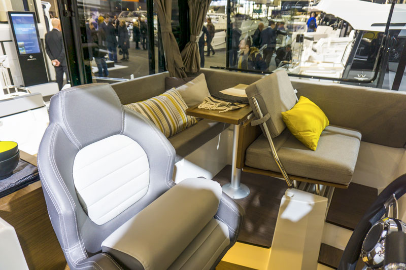 Merry Fisher 895 Marlin dinette centrale