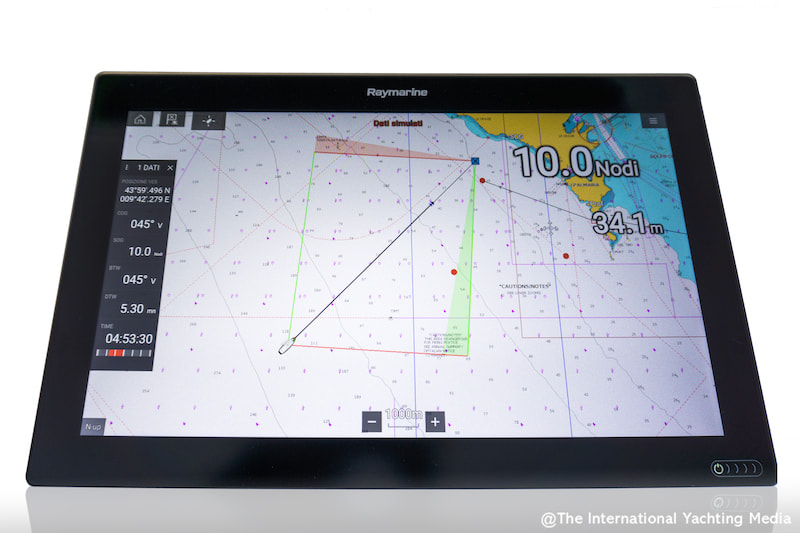 Raymarine Lighthouse routing con polari