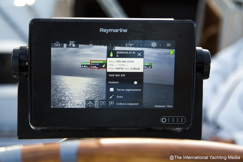 Raymarine clearcruise video