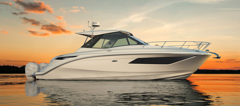 Sundancer 320 Coupe sunset