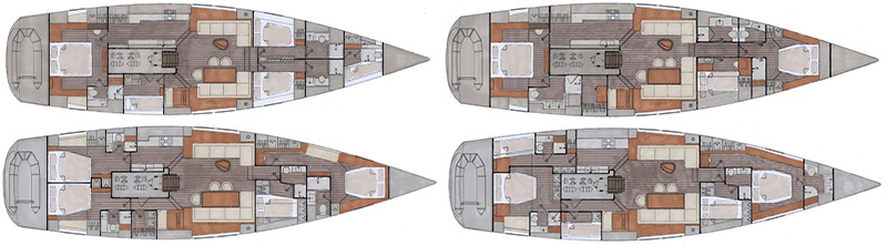 interior layout Contest 72CS