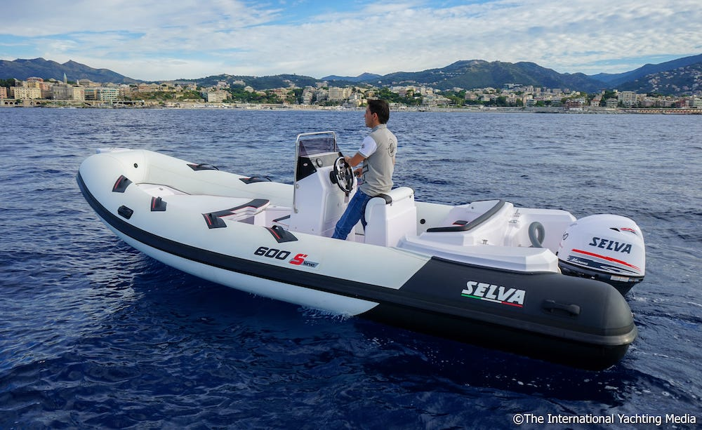 Selva D.600 Special con Murena 40 XSR. Test in mare