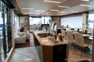 Ocean-Alexander-90-R- main deck from bow