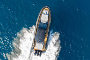 top view on cruise