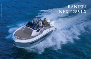 ranieri next 285 lx prova in mare
