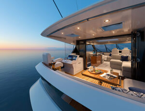 maritimo m600 enclosed flybridge
