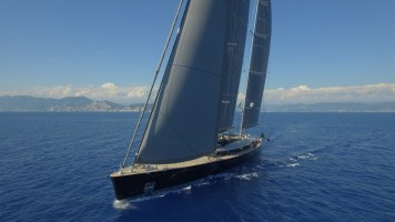 Sybaris, il ketch da 70 metri di Perini Navi si aggiudica due premi dell'International Superyacht Society