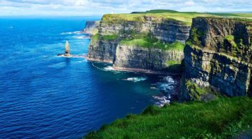 Cliffs of Moher, Irlanda, top 5 scogliere