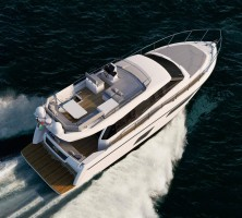 Ferretti Fly 450 top view